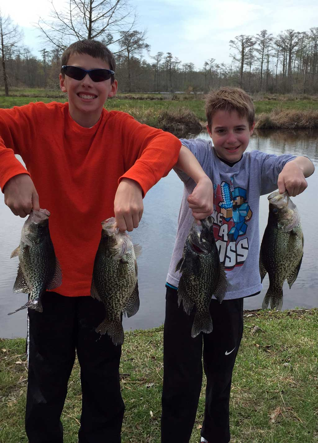Backcounty Crappie Fishing